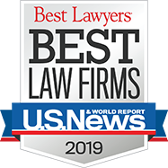 Best Law Firms 2019 Award