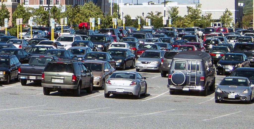parking lot land near airport