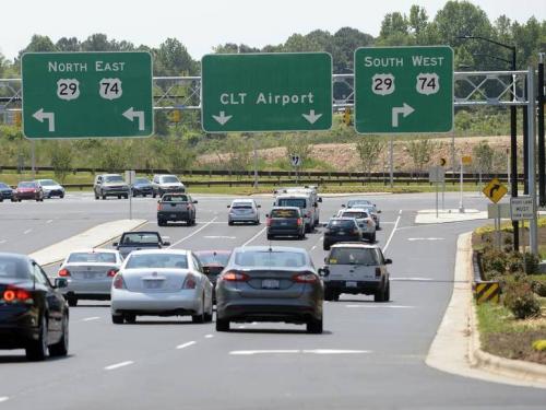 charlotte airport eminent domain